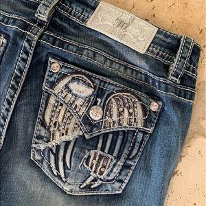 NWT Miss Me Jeans Signature Skinny Pants Sz 28